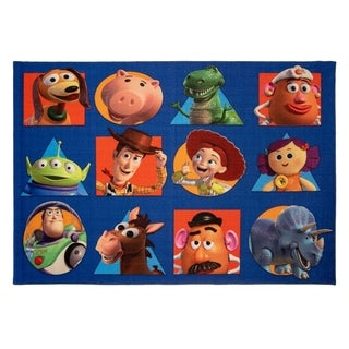 """Link to Toy Story Squares Area Rug (4'6 x 6'6"""") - 4'6"""" x 6'6"""" - 4'6"""" x 6'6"""" Similar Items in Recessed Lights"""