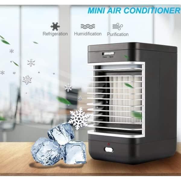 Shop 110-240V Mini Air Conditioner Personal Evaporative Air Cooler