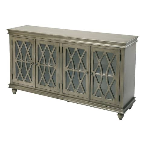 Butler Lansing Transitional Gray Wooden Rectangular Sideboard