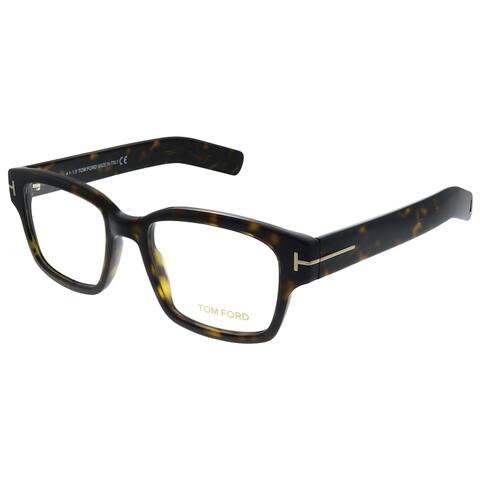 Tom Ford FT 5527 052 Unisex Dark Havana Frame Eyeglasses 50mm