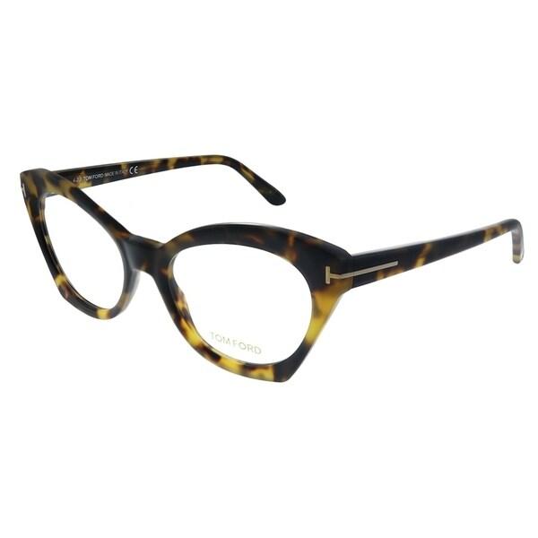 3333a31f4780 Shop Tom Ford FT 5456 056 Womens Tortoise Frame Eyeglasses 52mm ...