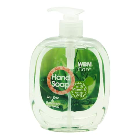 WBM Care Tea Tree & Rosemary Liquid Hand Soap - 500 ml