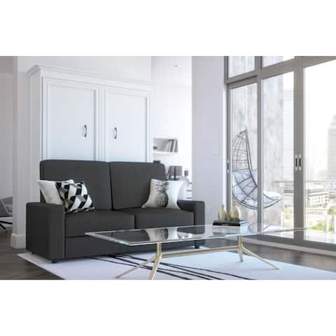 Bestar Versatile 2-Piece Wall Bed and Sofa Set