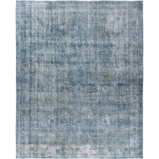 """Vintage, Hand Knotted Area Rug - 9' 8"""" x 11' 10"""""""