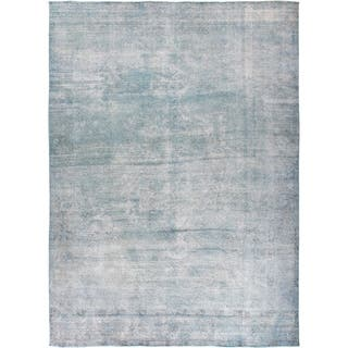 """Vintage, Hand Knotted Area Rug - 9' 3"""" x 12' 9"""""""