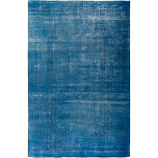 """Vintage, Hand Knotted Area Rug - 9' 2"""" x 12' 7"""""""