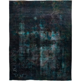 """Vintage, Hand Knotted Area Rug - 9' 9"""" x 12' 4"""""""