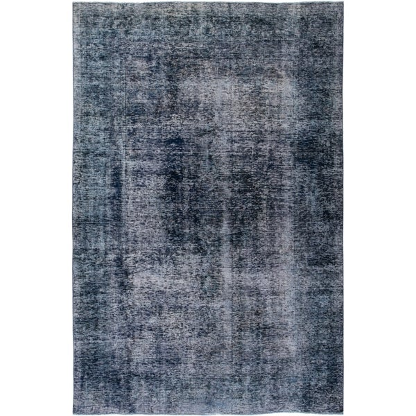 """Vintage, Hand Knotted Area Rug - 6' 1"""" x 9' 0"""" - 6' x 9'"""