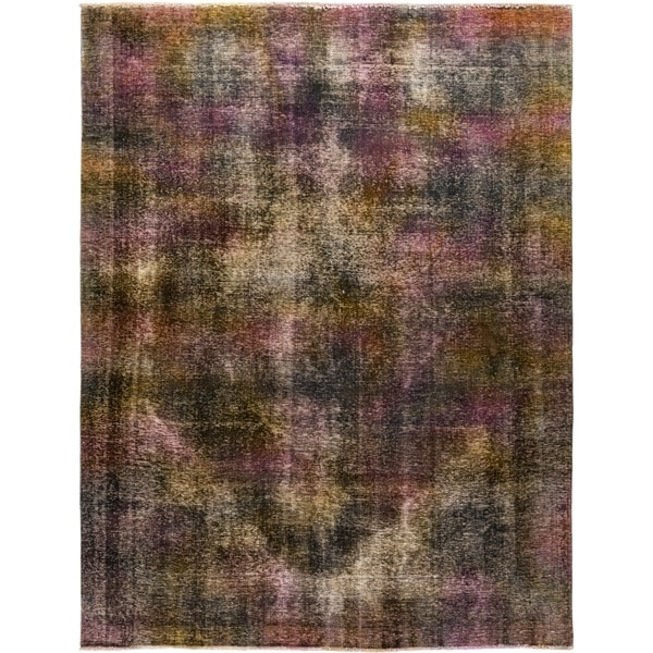 """Vintage, Hand Knotted Area Rug - 8' 2"""" x 10' 8"""" - 8' x 10'"""