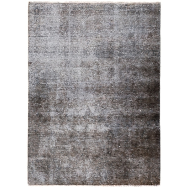 Bohemian Vintage One-of-a-Kind Hand-Knotted Area Rug - 4 x 6