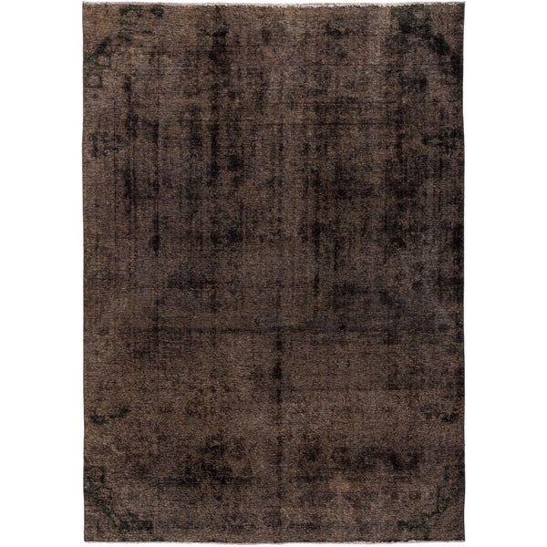 """Vintage, Hand Knotted Area Rug - 6' 6"""" x 8' 10"""" - 6' x 9'"""