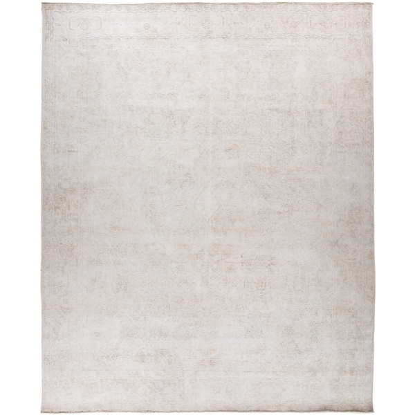 """Vintage, Hand Knotted Area Rug - 9' 8"""" x 12' 1"""" - 9' x 12'"""