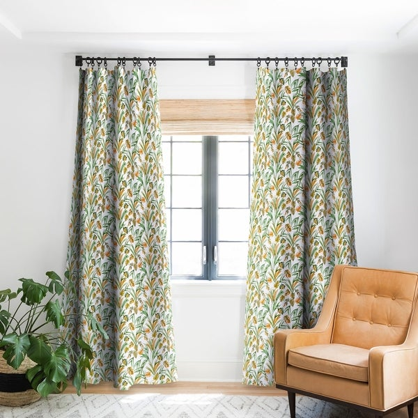 Deny Designs Tropical Botany Blackout Curtain Panel (2 Size Options). Opens flyout.