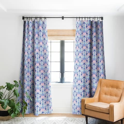 Deny Designs Ikat Pastel Blackout Curtain Panel (2 Size Options)