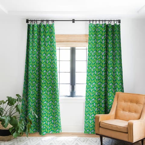 Deny Designs Leafy Greens Blackout Curtain Panel (2 Size Options)