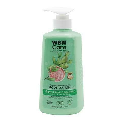 WBM Care Organic Olive Oil & Shea Butter Body Lotion - 10.6 Oz