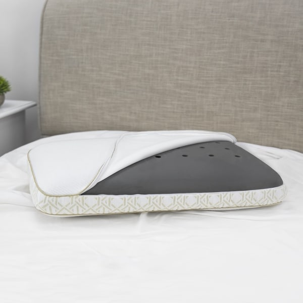 Shop Tommy Bahama Charcoal Infused Memory Foam Gusseted