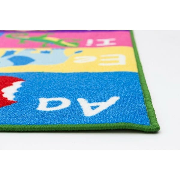 Road Map Reversible Fun Kids Area Rug