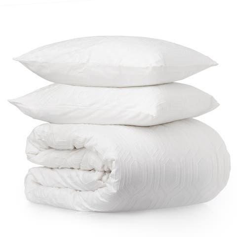 Porch & Den Mariah Geometric Cotton Comforter Set