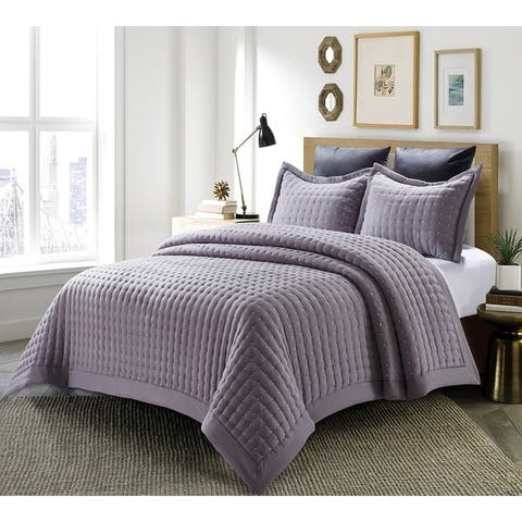 Westwood All-Season Quilt 3-PCS Queen Comforter Sets