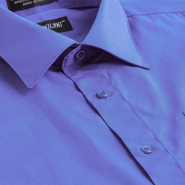 845893dde8ee Milani Poly-Cotton Men's Classic Fit Dress Shirt with Left chest