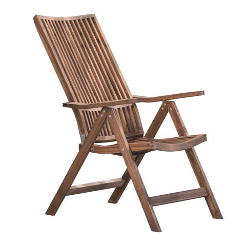 Bayside Retreat Natural Adjustable Lounge Chair
