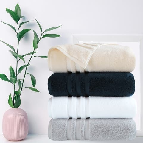 Finesse - Opulent, Zero Twist Cotton 6 Piece Towel Set (500 GSM)