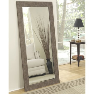 Carbon Loft Old Iron Full Length Leaner Mirror
