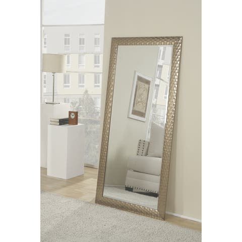 Silver Orchid Adoree Glam Full Length Leaner Mirror