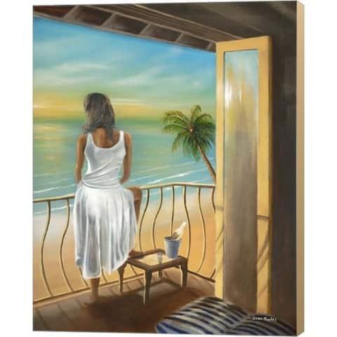 Geno Peoples 'Woman Beach' Canvas Art