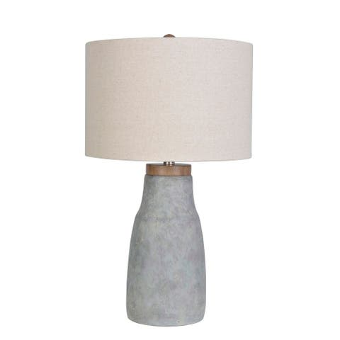 Lamps Per Se 26- inch Concrete Table Lamp - 26""