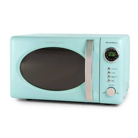 Nostalgia RMO7AQ Retro 0.7 Cubic Foot Mircowave Oven