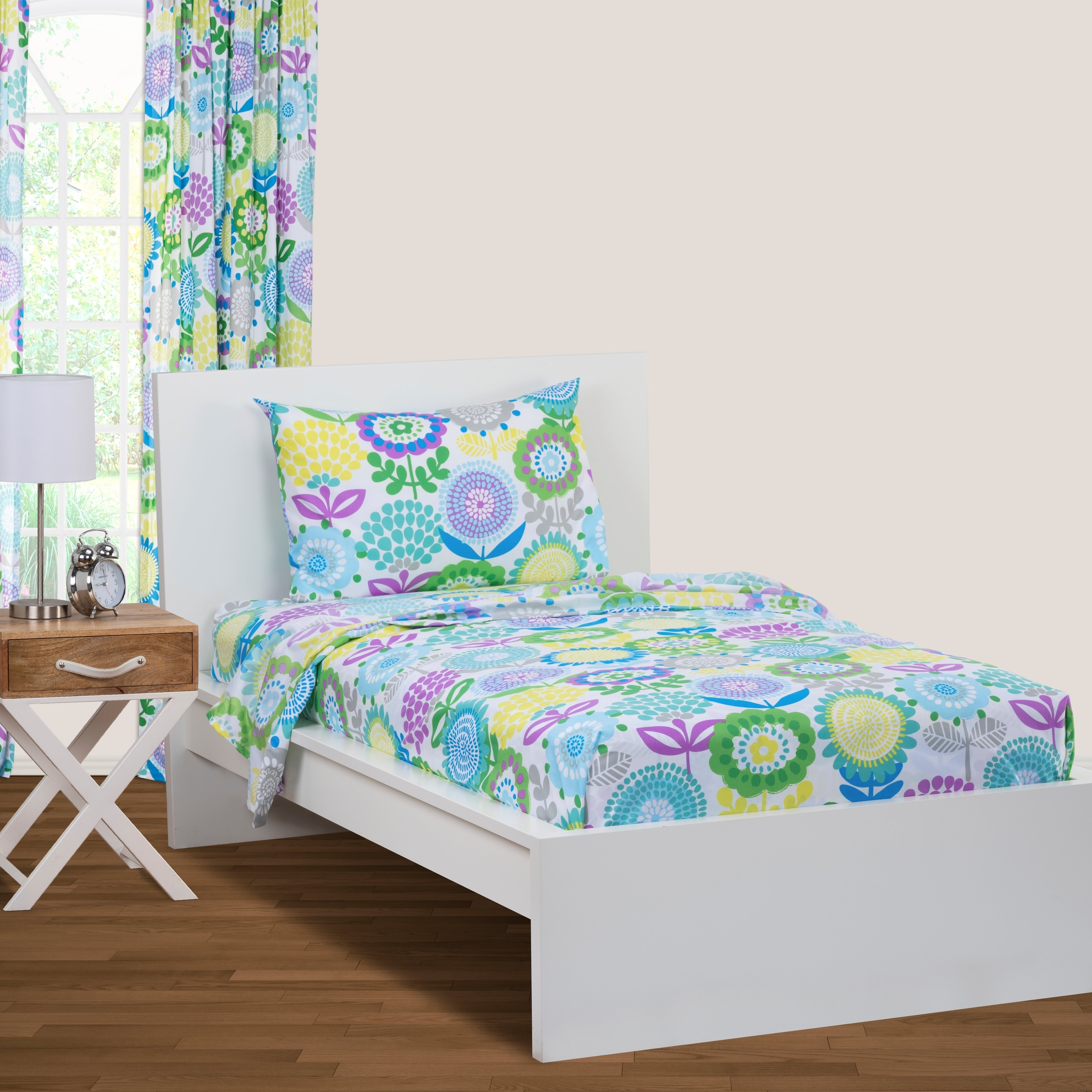 Crayola Pointillist Pansy Sheet Set Overstock 28359756