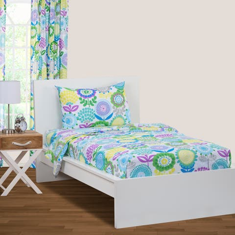 Crayola Pointillist Pansy Sheet Set