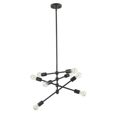 Calix 8-Light Oil-Rubbed Bronze Pendant