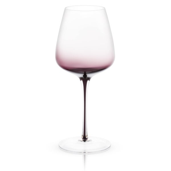 JoyJolt Black Swan Red Wine Glasses Set of two 26.8 Oz