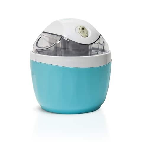 Nostalgia ICM500BLUE 1-Pint Electric Ice Cream Maker