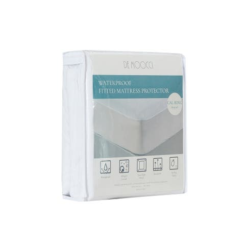 Hypoallergenic Waterproof Fitted Mattress Protector