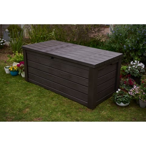 Keter Eastwood 150-gallon Plastic Storage Deck Box