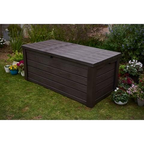 Keter Eastwood 150 Gallon Plastic Storage Deck Box