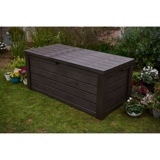 Keter Eastwood 150 Gallon Plastic Storage Deck Box