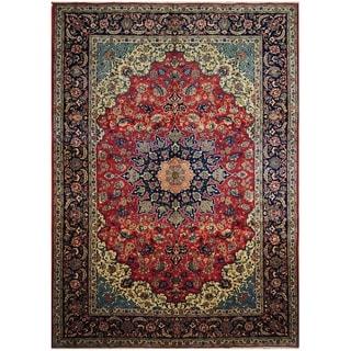 Handmade One-of-a-Kind Isfahan Wool Rug (Iran) - 9'7 x 13'6