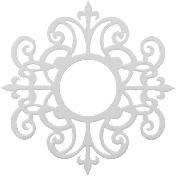 Dijon Architectural Grade PVC Pierced Ceiling Medallion