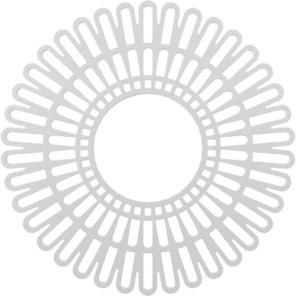 Cornelius Architectural Grade PVC Pierced Ceiling Medallion