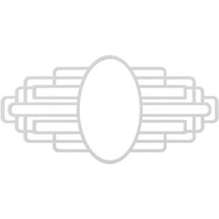 Elizabeth Architectural Grade PVC Pierced Ceiling Medallion