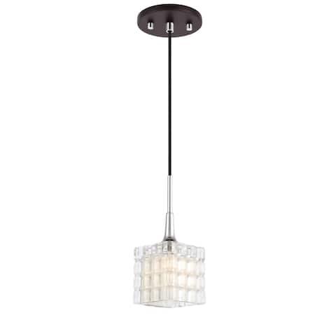 Woodbridge 21123CHZLE-C80415 Regent Park Mini-pendant w/LED