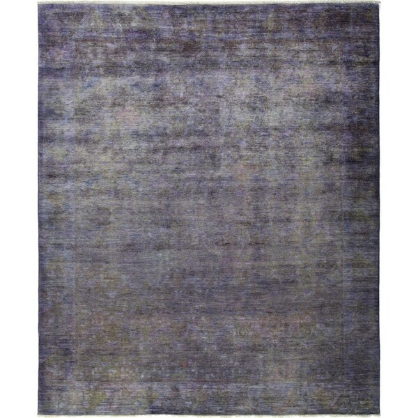 """Vibrance, Hand Knotted Area Rug - 8' 1"""" x 9' 9"""" - 8' x 10'"""