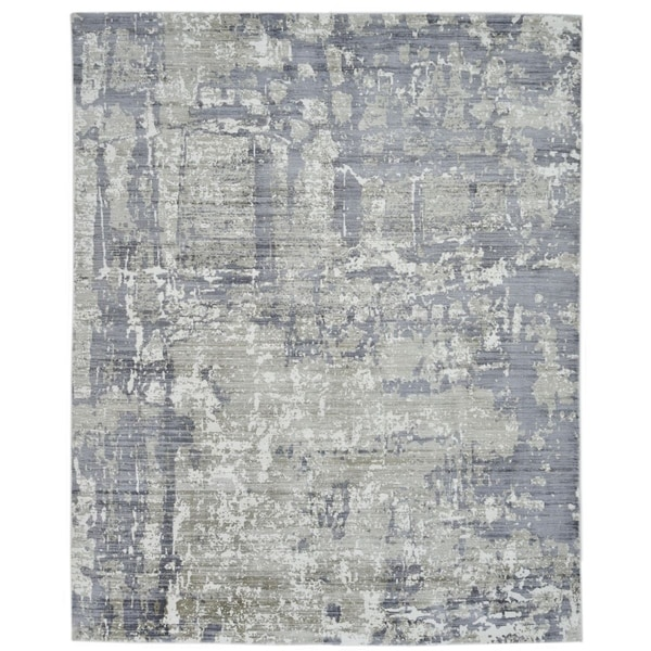 """Modern Collection, Hand Knotted Area Rug - 8' 10"""" x 11' 9"""" - 9' x 12'"""