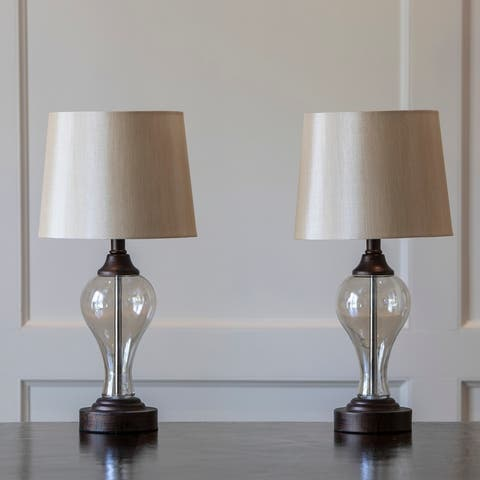 Brady Table Lamps with USB Ports (Set of 2)