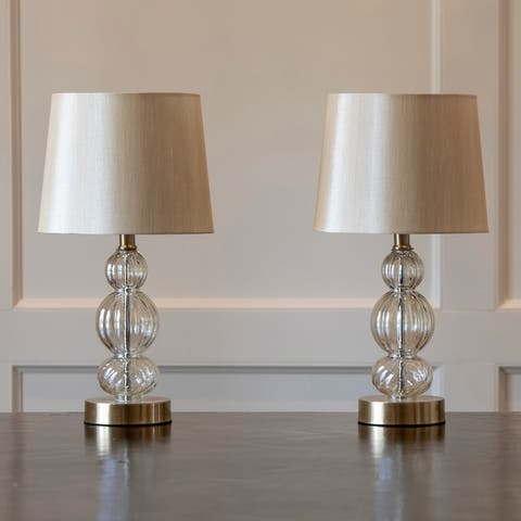 Joan Table Lamps with USB Ports (Set of 2)